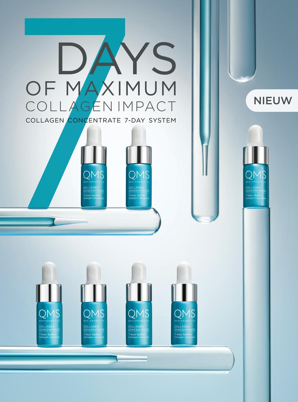 QMS-collagen-concentratie 7 days system